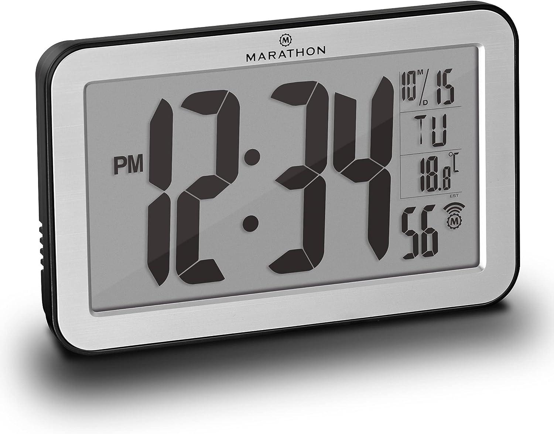 El mejor digital: Reloj digital de pared Marathon
