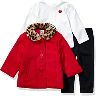 Little Me Baby-Girls LPG08492I Jacket Set Long Sleeve Down Jacket - red