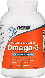Now Foods Omega-3 1000 Milligram, 500 Softgels