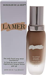 LA MER The Soft Fluid Long Wear Foundation SPF20 30 ml.# Shell - for Light skin with Cool undertone