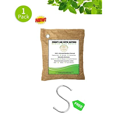 Air Purifying Bags Naturally Activated Bamboo C...