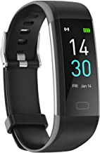 Fitness Tracker with Heart Rate Blood Pressure Sleep Monitor 16 Sports Modes, Ip68 Activity Tracker GPS Track Records Step...