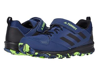 adidas Outdoor Kids Terrex Tracerocker CF (Little Kid/Big Kid) (Tech Indigo/Black/Signal Green) Boys Shoes