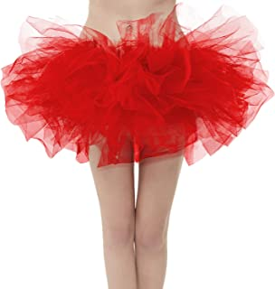 Women's Classic Layers Fluffy Costume Tulle Bubble Skirt