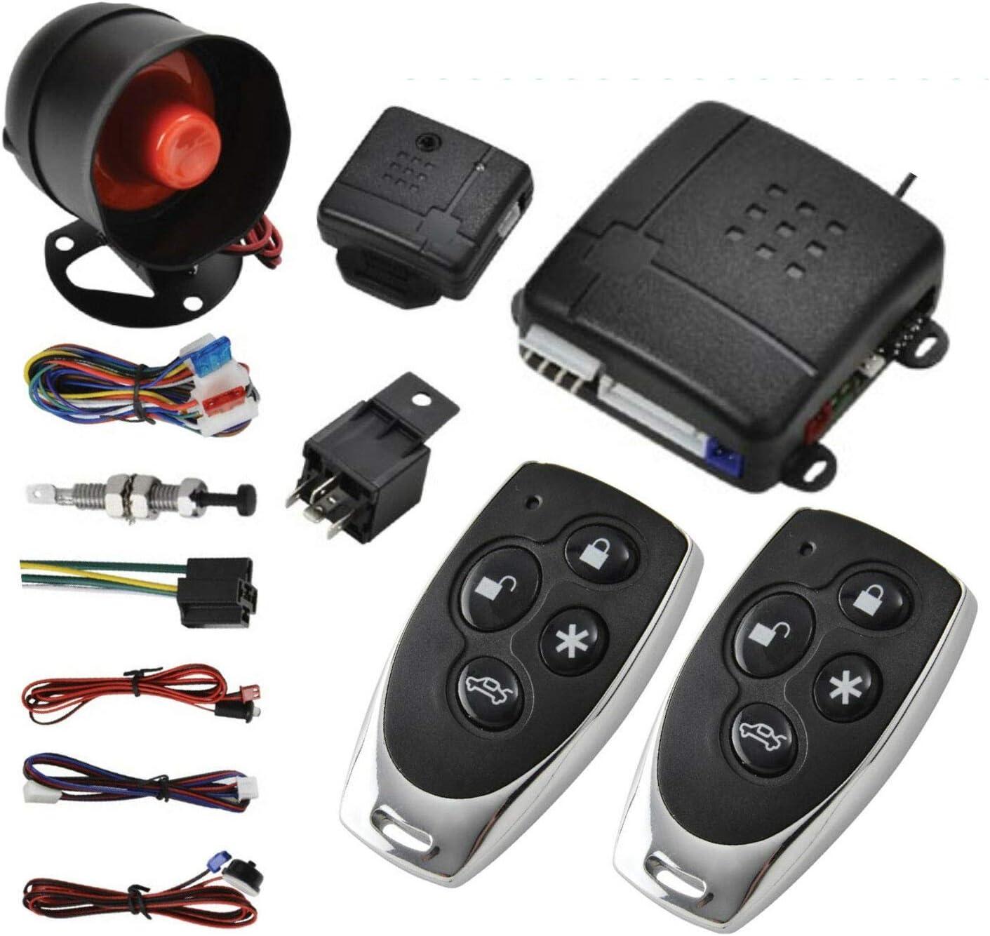 MASO Car Central favorite Spring new work Lock Universal Auto Vehicle Kit Remote