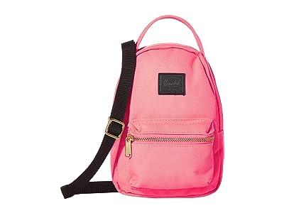 Herschel Supply Co. Nova Crossbody (Neon Pink/Black) Handbags