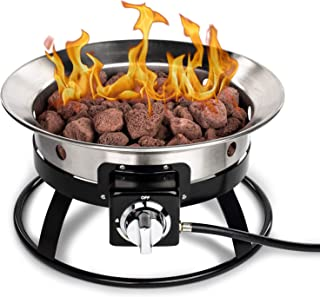 Best stainless steel propane fire pit Reviews