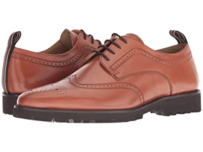 CARLOS by Carlos Santana Gitano Lite Oxford (Cognac Full Grain Calfskin Leather) Men