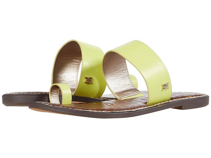 Sam Edelman  Gorgene (Lime Cocktail Neon Texas Veg Leather) Womens Shoes