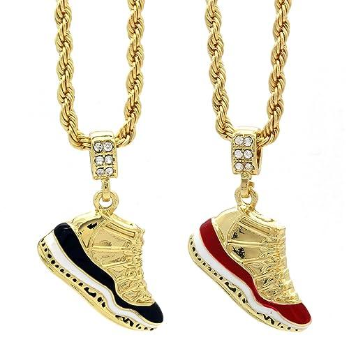 67654d45a6a L & L Nation Mens Gold Plated Hip Hop Retro 11