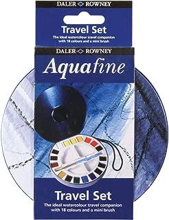 Daler Rowney Watercolour Aquafine Travel Tin