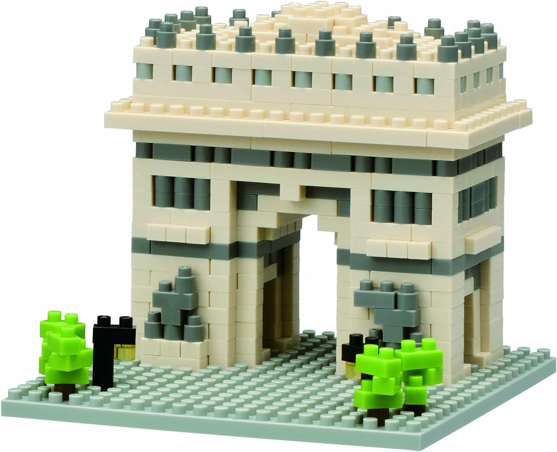 Nanoblock 58334 Arc De Triomphe Building Kit