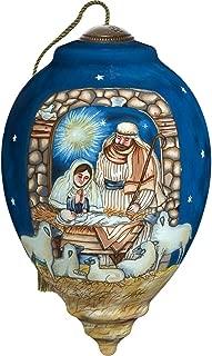 Ne'Qwa Sleep in Heavenly Peace Nativity Ornament