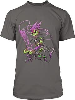Overwatch Looking for Me? (Sombra) Men's Gamer Tee Shirt