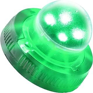 LAMPHUS SnakeEye II SEHA14 LED Hideaway Strobe Warning Lights [SAE Class 3] [33 Modes] [4 Watt] [Weatherproof] Flashing Lights for Police & Firefighter Emergency Vehicles - Green