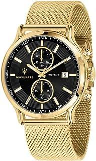 Orologio da uomo, Collezione Epoca, cronografo, in acciaio e PVD oro giallo - R8873618007