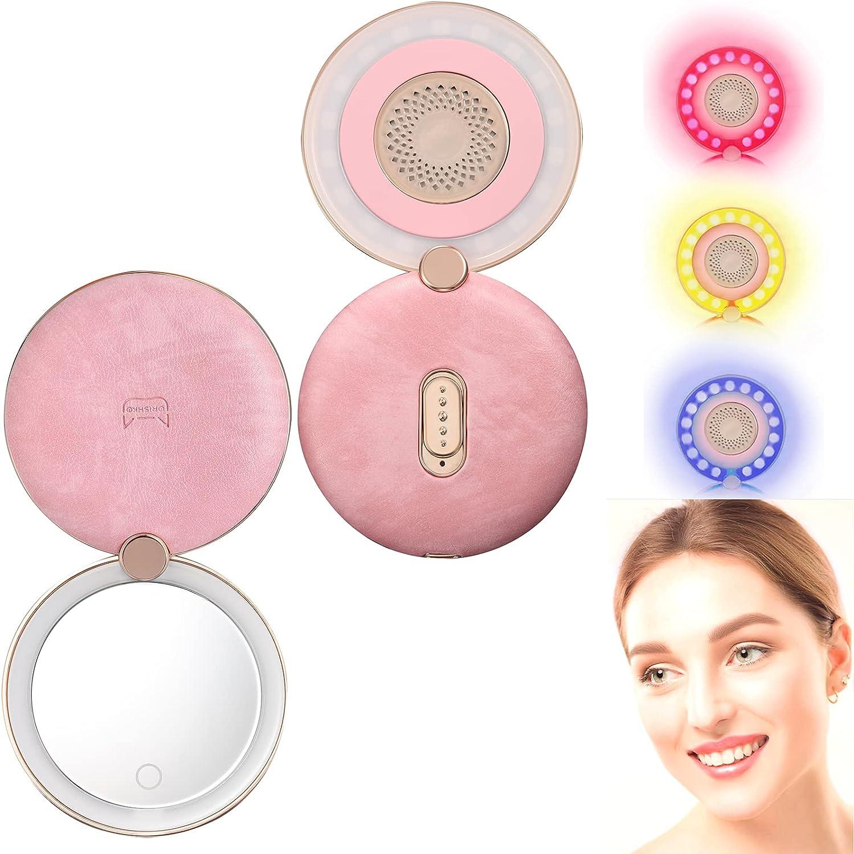 Makeup Popular shop is the Mail order lowest price challenge Mirror LED Travel GRISHKO Rejuvenation Skin