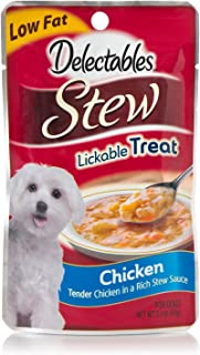 Hartz 3270015541 Delectables Stew chicken lickable treats 60gm
