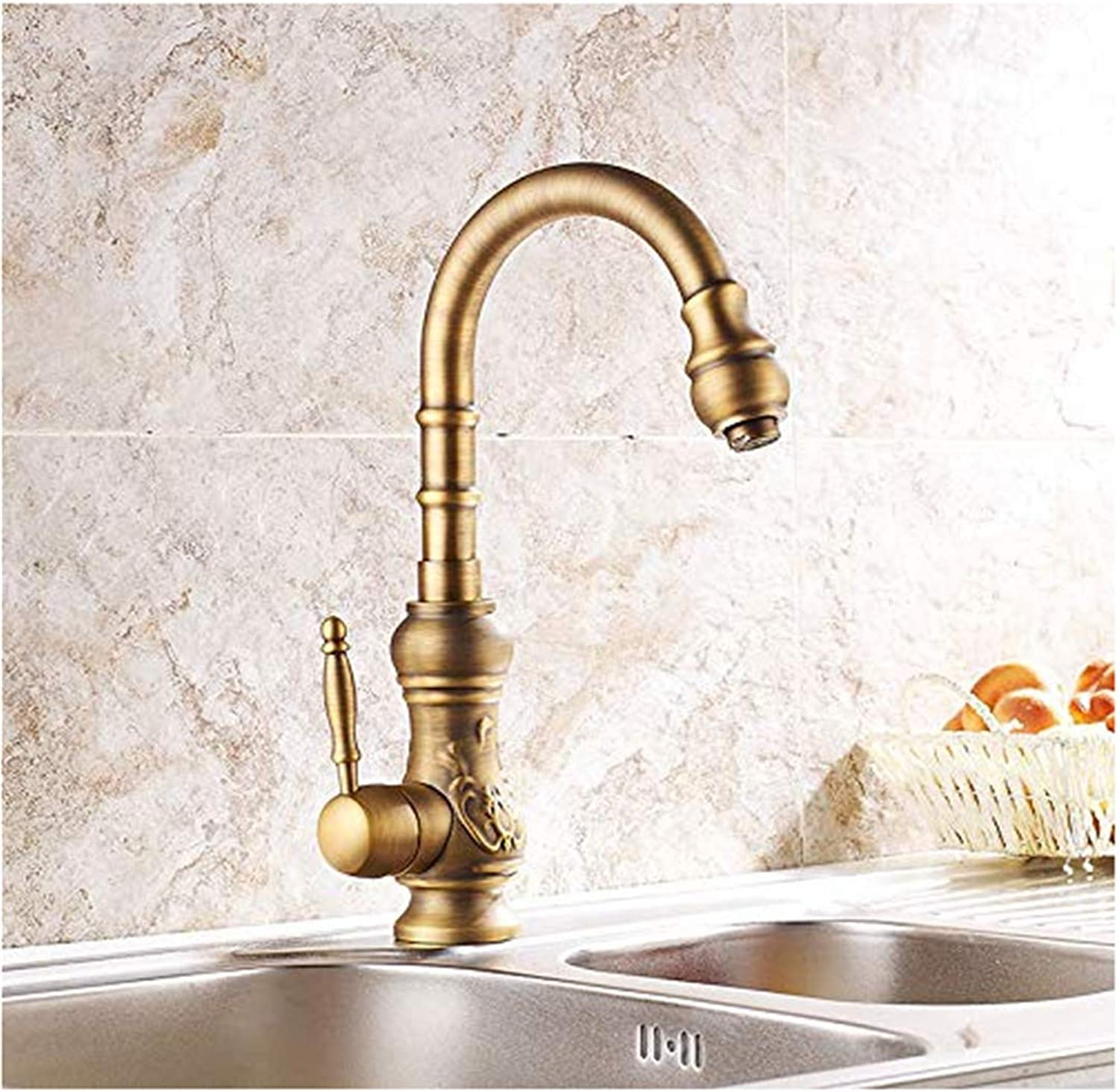 Modern Double Basin Sink Hot and Cold Water Faucetq9Jrgsha