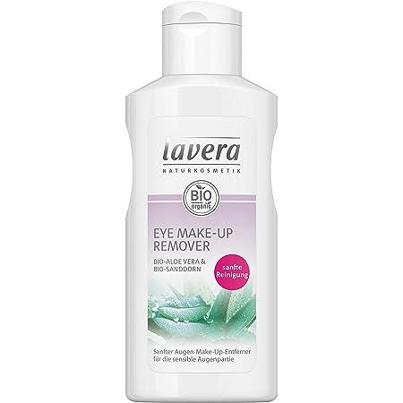 lavera Eye Make-Up Remover ∙ Tratamiento para pestañas ∙ Con Aloe Vera ∙ Adecuado para pieles sensibles ∙ Vegan Cosmética Natural Bio Maquillaje Organico 100% Certificado (125 ml)