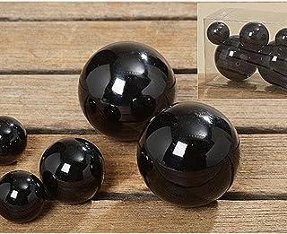 Amazon.fr : Boule Noire - Décoration d\'extérieur : Jardin