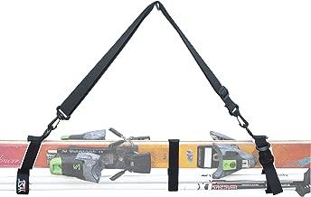 YYST Ski Strap Ski Carrier Ski Shoulder Strap - Hold Ski and Ski Poles - Quick - Release Style