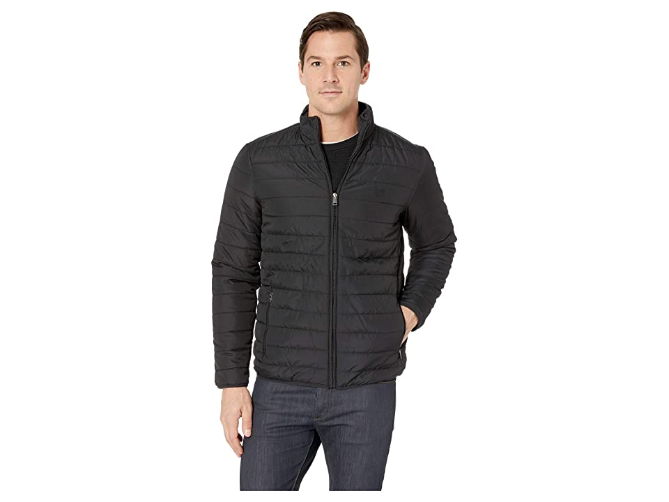 CHAPS Quilted Packable Jacket (Polo Black) Men