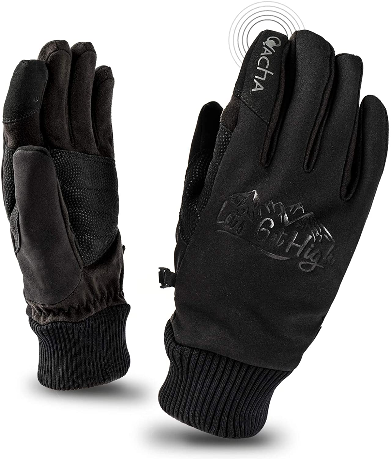 Cheap SALE Start Ovacha Men Directly managed store Women Cold Weather Touchscr Skating Gloves Ice