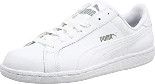 PUMA Smash Leather, Baskets Basses Homme