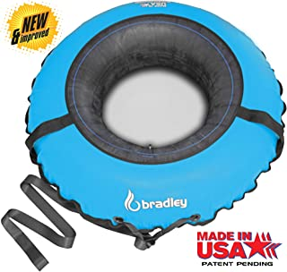"Bradley Commercial Snow Tube for Adults and Kids | 50"" Heavy Duty Cover 
