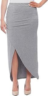 Women's Wrap Style Maxi Skirt