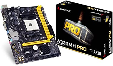 Biostar ryzen For A320 Chipset with microATX Motherboard a320mh [domestic regular distribution goods]