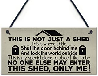 Best wood shed sign Reviews