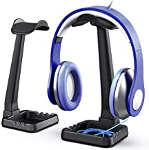 PC Gaming Headphone Stand Headset Hanger with Cable Holder for Sennheiser, Sony, Audio-Technica, Bose, Beats, AKG, Gaming ...