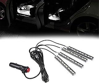 SJDZ Car Decoration Led Interior Underdash Car accessories Neon lighting Automotive lights(White)