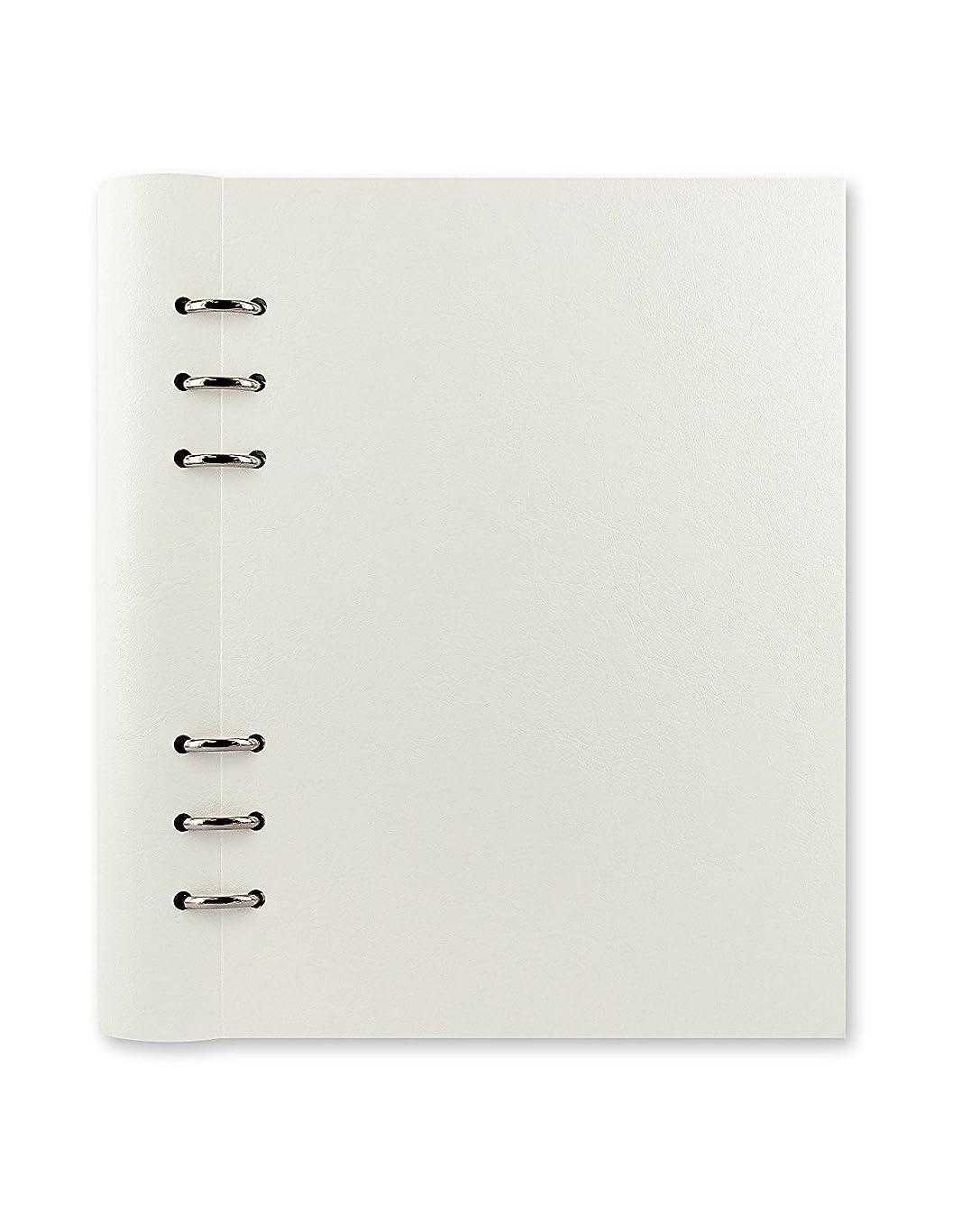 投資社説の量ファイロファックス システム手帳 クリップブック A5 ホワイト 23610 [並行輸入品]