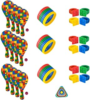 36 PC Building Block Brick Party Supplies and Party Favors