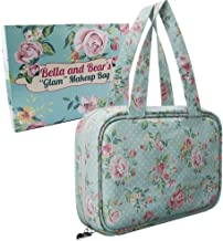 Bella and Bear Toiletry Bag for Women - A Hanging Travel Bag Ideal for Makeup and Toiletries With Carrying Handle and Beautiful Stylish Design
