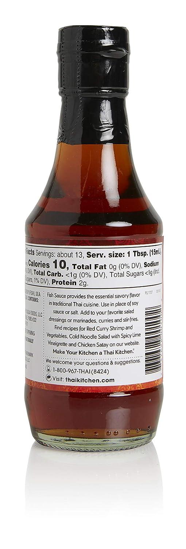 Amazon Com Thai Kitchen Fish Sauce 2c 6 76 Fl Oz