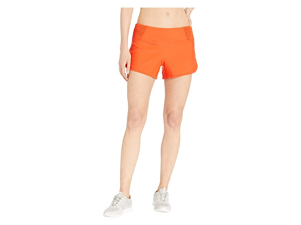 Prana Chantel Shorts (Lava Glow) Women