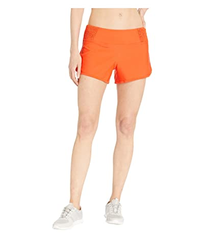 Prana Chantel Shorts (Lava Glow) Women