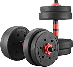 GDY Adjustable 22/33/44/88LBS Exercise Dumbbells Set/Weight Set Strength Training Equipment Barbell for Gym Home Office