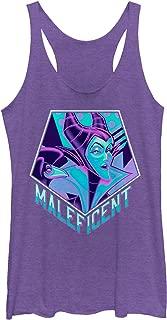 Sleeping Beauty Women's 90's Maleficent Racerback Tank Top