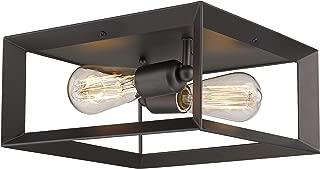 Emliviar 2-Light Ceiling Light, 12