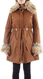 GUESS by Marciano Luxury Fashion Womens 94G3829214ZCAMEL Brown Down Jacket   Fall Winter 19