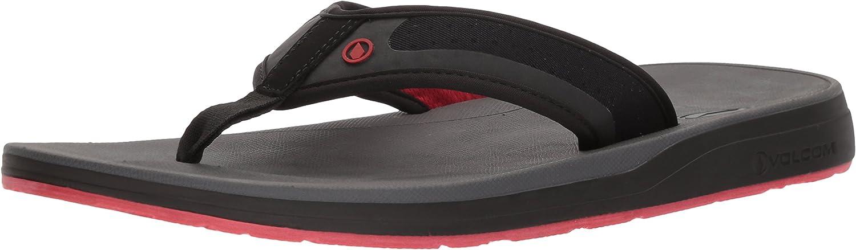 Volcom Men's Ventilator Breathable Mesh Mesh Strap Flip Flop Sandal  beeilte sich zu sehen