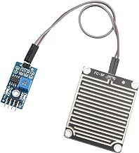 HALJIA Sensor de lluvia Módulo de gotas de agua de lluvia Módulo de detección de lluvia Módulo meteorológico Humedad Compatible con Arduino