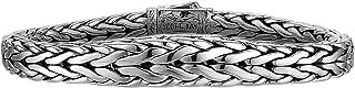 Doberman Tapered Edge Scott Kay Mens Sterling Silver Bracelet