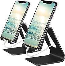 پایه تلفن همراه وتو ، پایه تلفن 2 بسته: گهواره ، نگهدارنده ، پایه سازگار با سوییچ ، تمام گوشی های هوشمند آندروید ، تلفن 11 Pro Xs Xs Max Xr X 8 7 6 6s Plus 5 5s شارژ ، میز لوازم جانبی (سیاه)