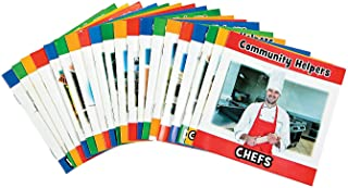 Community Helpers Book Set - 20 Early Reading Booklets for PK-2 or SPED about Different Community Workers